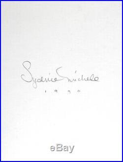Nude Female Photo 8x10 B&w Gelatin Silver Dkrm Print Signed Original