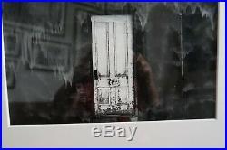 OLIVER GAGLIANI signed original vintage White Door, Eureka, Nevada, 1973