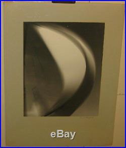 Original Vintage DAVID ROSENFELD Abstract SAIL Sailboat PHOTO Vortograph Style