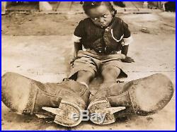 Our Gang Extremely Rare Vintage Original 1920s 8/10 Photo Young Farina