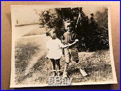Our Gang Extremely Rare Vintage Original 20s 8/10 Photo Young Farina Aroma/Mango