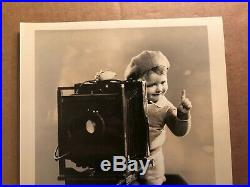 Our Gang Very Rare Vintage Original 30s 8/10 Photo Very Young Spanky
