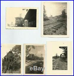 Puerto Rico Six (6) Vintage Railroad Photos From Aguadilla Hoard