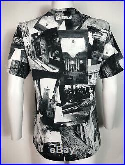 Rare Vtg Jean Paul Gaultier Homme Black & White Photo Print T Shirt M 48