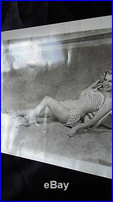 SCARCE! 1951 Marilyn Monroe VINTAGE ORIGINAL 4X5 (Laszlo Willinger)