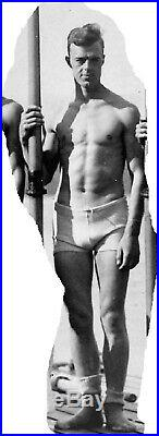 Sculling Crew, Columbia U. 1926, vintage wire service photo, gay interest