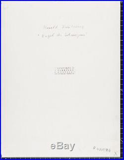 Siegfried Enkelmann vintage gelatin silver print, Harald Kreutzberg, 1953