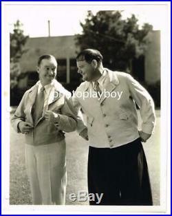 Stan Laurel Oliver Hardy Advertise Jackets Hal Roach Stax Stamped Portrait 1932