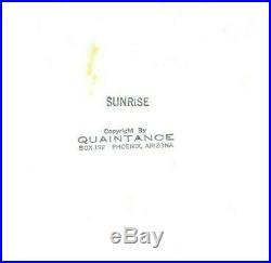 Sunrise by George Quaintance original Photo, Vintage Male Beefcake, Rare