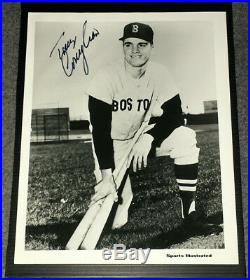 Tony Conigliaro Vintage Autographed B&w Sports Illustrated Promo Photo-red Sox
