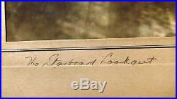 VINTAGE ORIGINAL 1933 PHOTOGRAPH THE STARBOARD LOOKOUT by WALLACE MACASKILL +