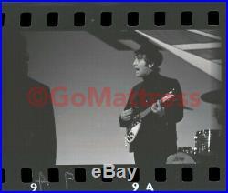 VTG Beatles ORIGINAL Photo Negative 2/24/64 BIG NIGHT OUT TV Show © Available