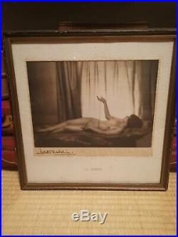 Very Rare Dorothy Wilding Art Deco Photograph Black White 1920's Le Cadeau
