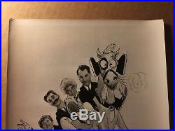 Very Rare Early Vintage Original Photo Marx Brothers Horse Feathers 1932