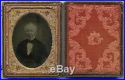 Victorian Old Gentleman, Vintage Ambrotype Photo