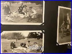 Vintage Album (50 Photos), Extra Photos, Tin Box withDiaries, Papers Cigar Indian