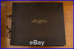 Vintage Andersen Meyer Chinese Factory Photo Presentation Album Gelatin Silver
