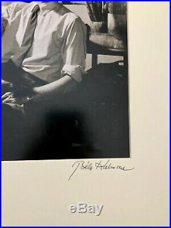Vintage Bela Kalman Signed Photograph Nude MCP And Model Budapest 1954