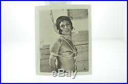 Vintage Black & White Torture Bondage Nude Photos Erotica Set Pinup Risque 1960