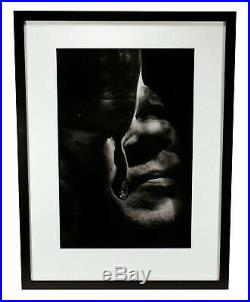 Vintage Connie Imboden Distorted Face Photo Photograph Gelatin Silver Print 7/25
