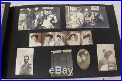 Vintage Family Photo Album 400+ Black & White Photos 1930s-1960s Newspaper Cards