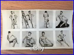 Vintage Gay LON Hanagan LOT 11 orig 8x5 Photo Cards BEEFCAKE Male Physique