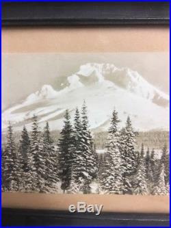 Vintage Gifford Scenic Studios Mt Hood Loop Photograph Original