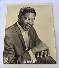 Vintage James Kriegsmann BB King Promotional publicity photo Blues