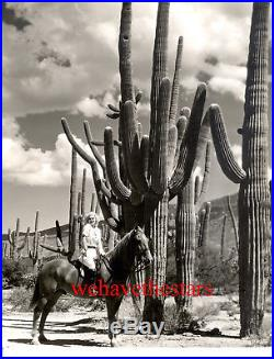 Vintage Jean Harlow HORSEBACK IN DESERT DBW Publicity Portrait by TANNER