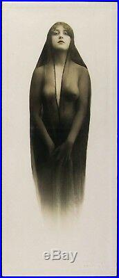 Vintage Kaloma 1914 Pastime Novelty Co. Photograph One of a kind RARE Erotic