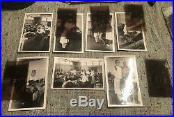 Vintage Lot Of 7 Medical School Post Mortem Photograph Cadaver Macabre