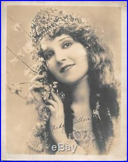 Vintage Madge Bellamy Autographed Picture. Silent Movie Star