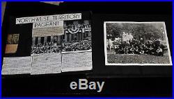 Vintage Northwest Territory Historical Re-enactment Photo Album, Ohio (1937-38)