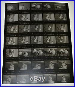 Vintage Nude Model Art Photos Lot Of 60 Negatives Wolfman Belly Dancer