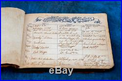 Vintage Photo Album of Navy Man & His Family From 1943 With Newspaper Clippings