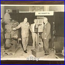 Vintage Photographs of Motiograph Inc Projection Products & Company President
