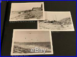 Vintage Scrapbook with 202 B&W Photos from 1920's Massachusetts Plymouth Rock