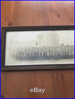 Vintage USMC WW1 Fighting 5th Regiment U. S. Capitol Building 1919 Yardlong Photo