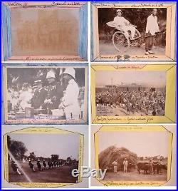 Vintage album of 52 photographs of China. Circa 1912 1913