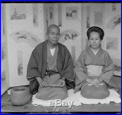 Vintage japanese glass plates, ca 1910, 200 plates