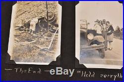 Vintage photo album 1920 St Louis Tornado Damage crashed cars Planes 294 BW PICS