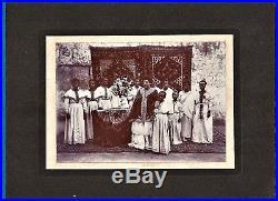 Vintage photo emperor negus Haile Selassie wife Menen Afsaw foto Ethiopia c 1928