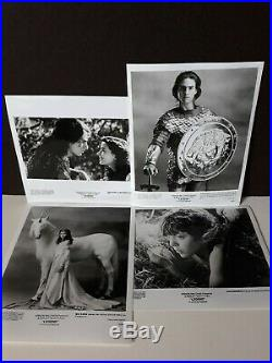 Vtg 1985 Ridley Scott movie Tom Cruise LEGEND press promo kit +10 B&W photos