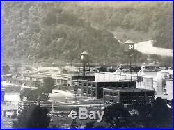 Vtg Libbey Owens Glass Company Kanawha City Charleston Wv Yardlong Picture Photo
