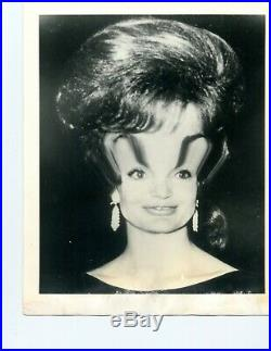 Weegee (arthur Fellig) Vintage Distortion Photograph First Lady Jackie Kennedy