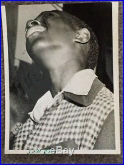 Weegee (arthur Fillig) Vintage Silver Gelatin Photo Harlem Boy C. 1940's