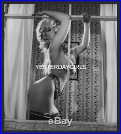 Ygst-0256 Original Scarce Vintage B/w 7.5x8 60's Stamped R. Gay Lorraine Burnett