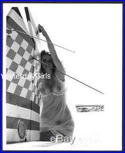 Ygst-1707 Vintage B/w 8x10 1970's Sweet Art Posed Nude Model Janet Newell